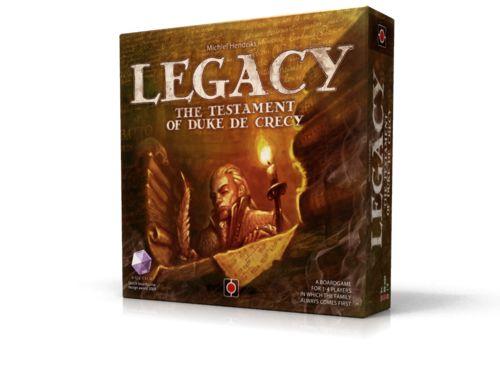 Legacy: The Testament of Duke de Crecy | Portal Games 2013