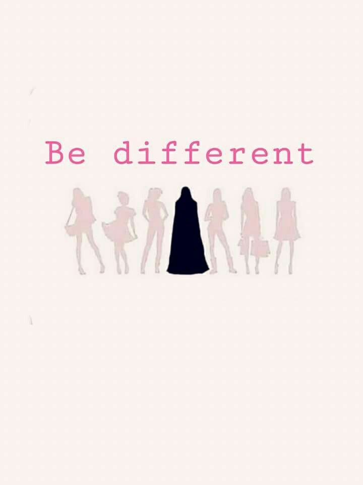 Let's be different, sisters!