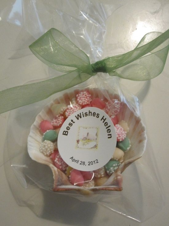 bridal shower beach theme | Party Ideas / Party favor for a lighthouse/beach themed bridal shower