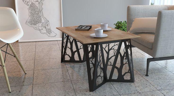 Coffee Table ORIGAMI (Black) by ArpeStudio on Etsy https://www.etsy.com/listing/209110622/coffee-table-origami-black