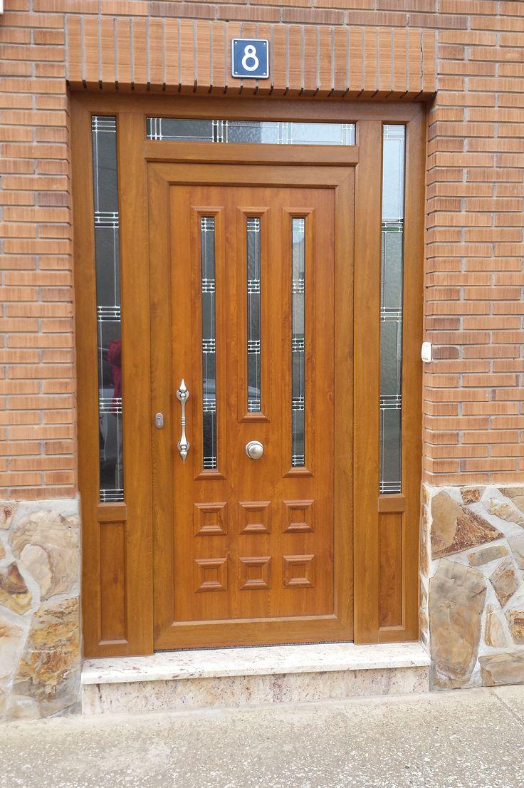 TEMPO CARRO Aluminio foliado #indupanel #paneles #puertas #aluminio #pvc #puerta #aluminium  #doors #chalet #decoration #decoracion #hogar #classic #clasica #lacado #madera