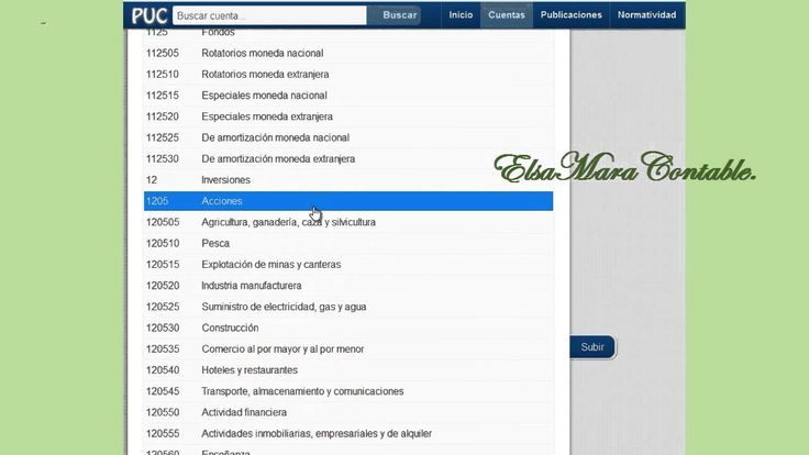 23. Manejo y Utilización del PUC para COLOMBIA : ElsaMaraContable