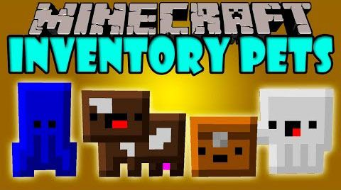 Inventory Pets Mods adds to 32 awesome, unique pets with mind-bending skills and fancy tricks. You might wonder how does they look. For more details, Minecraft Inventory Pets are living animated creatures that exist in your inventory and give you amazing special effects, drops, buffs, utilities,...