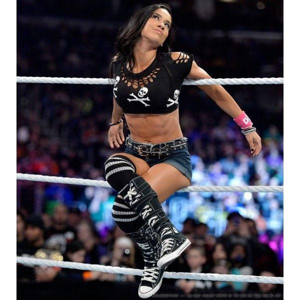 geek GODDESS images | The Largest Gallery for WWE Diva AJ Lee at... ❤ liked on Polyvore featuring wwe