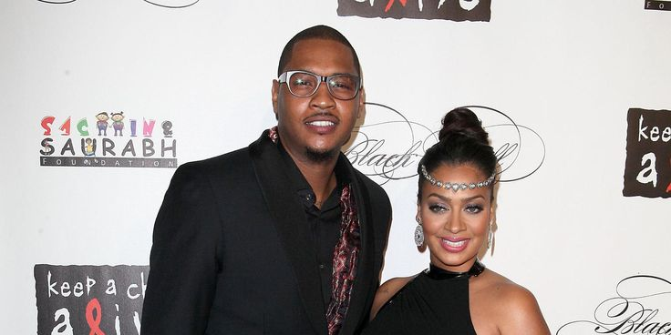 La La Anthony Poses In A Gorgeous Form-Fitting Red Dress - Teasing Carmelo Some More After His Thirsty Comment On Another Pic! #CarmeloAnthony, #LaLaAnthony celebrityinsider.org #Entertainment #celebrityinsider #celebrities #celebrity #celebritynews