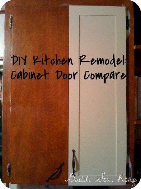 Add 1/8 plywood to blank cabinets to look like shaker style. Cabinets in a budget