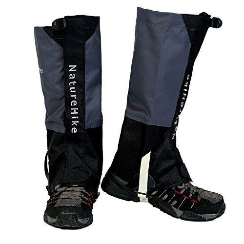 Weanas® Men's/Women's Unisex Rocky Mountain Winter Snow Walking Hiking Skiing High Gaiters Waterproof Breathable Nylon Shoes Cover  http://www.amazon.com/dp/B00M0GM4N8/ref=cm_sw_r_pi_dp_gz-Eub1SPZJEG