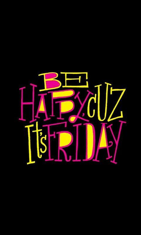 Friday...Friday... it's Friday!!!