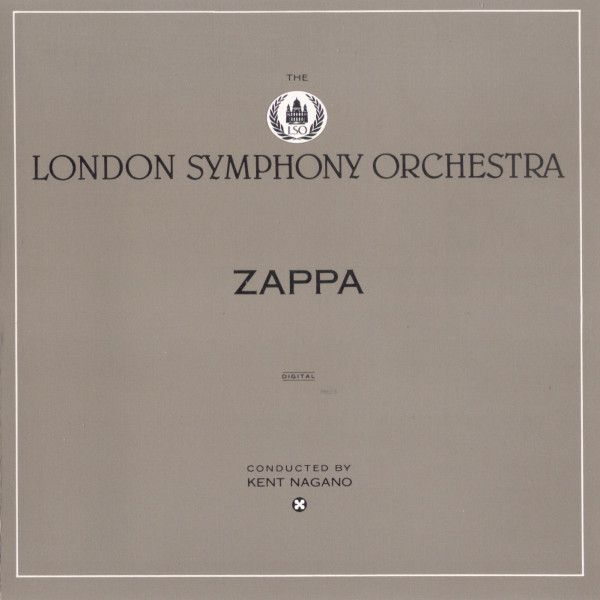 Zappa* / The London Symphony Orchestra Conducted By Kent Nagano - Zappa (CD, Album) at Discogs