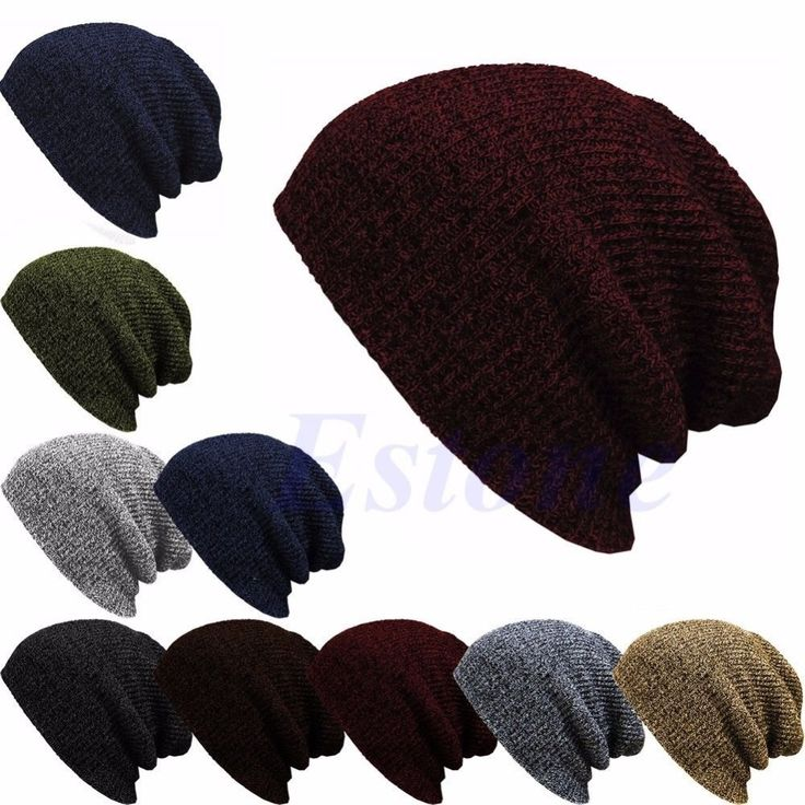Winter Casual Cotton Knit Hats For Women Men Baggy Beanie Hat Crochet Slouchy Oversized Ski Cap Warm Skullies Toucas Gorros-J117 >>> Check this awesome product by going to the link at the image.