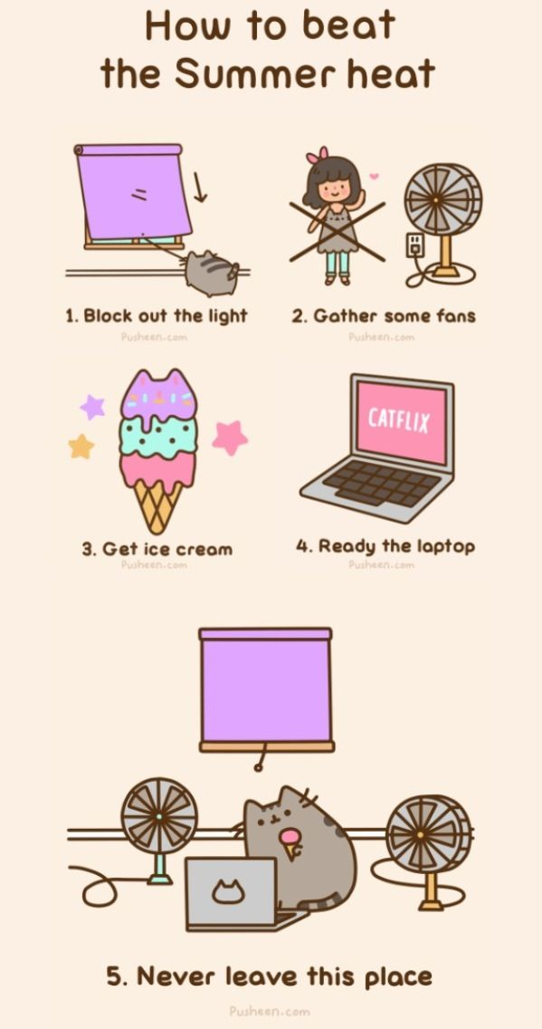 how to draw pusheen cat cupid