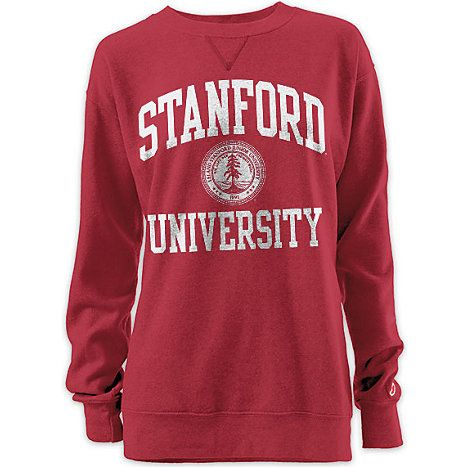 Product: Stanford University Women's Oversized Crewneck Sweatshirt