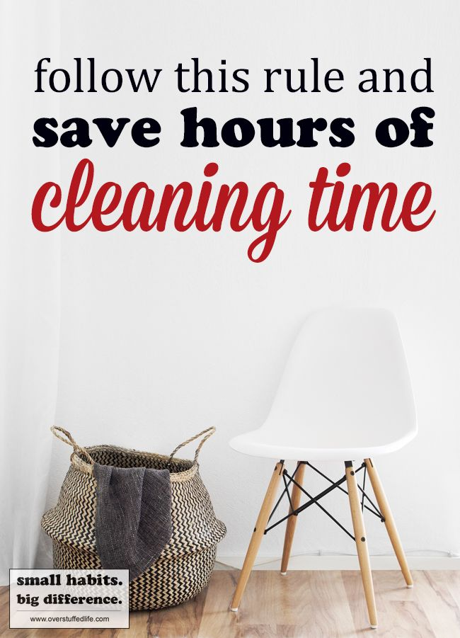 how to clean my house fast