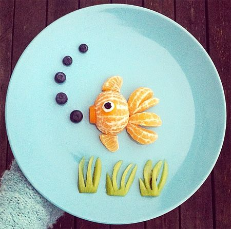 There's something fishy about this picture but we're not quite sure what it is...