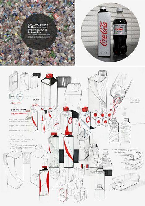 eco packaging redesign drawings