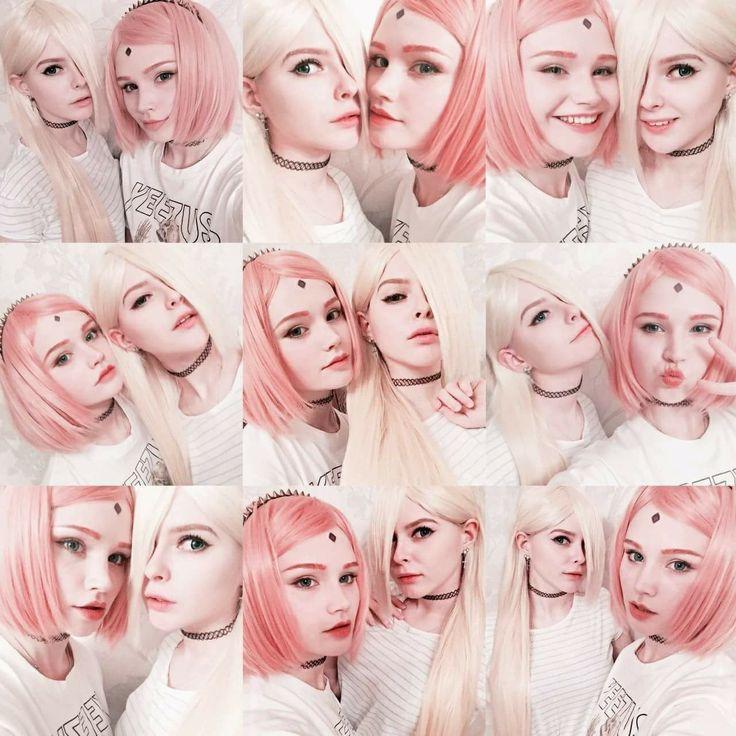 Sakura Haruno and Ino Yamanaka Cosplay ♥♥♥ #Realistic #Impressive #Beautiful #cool