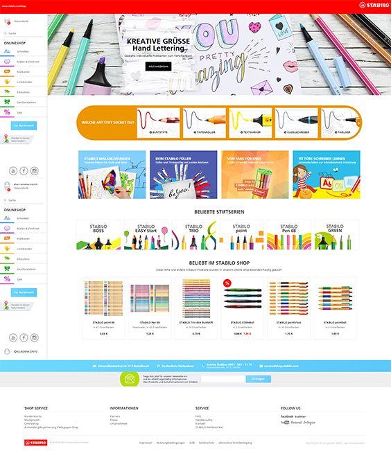 #ShopwareDesign #ShopwareTheme #ShopwareShop #eCommerce #eCommerceSoftware #eCommerceplatform #Onlineshop #Children #Kids #stabilo #painting #art #school