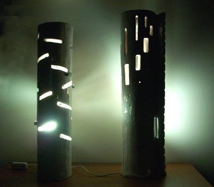 Lampade in ceramica - altezza 40 cm