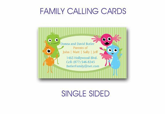 Dating calling cards