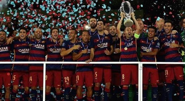 Juara UEFA Super Cup Dari Masa ke Masa (1972 – 2015)