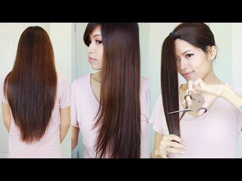 The Best Hair Hack ♥ How to Cut & Layer Your Hair at Home – YouTube