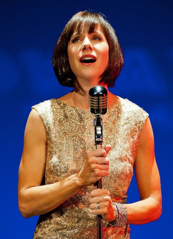 Susan Egan, I love her! She was first Meg in Disney's Hercules, and then Belle in Beauty and the Beast in Broadway.