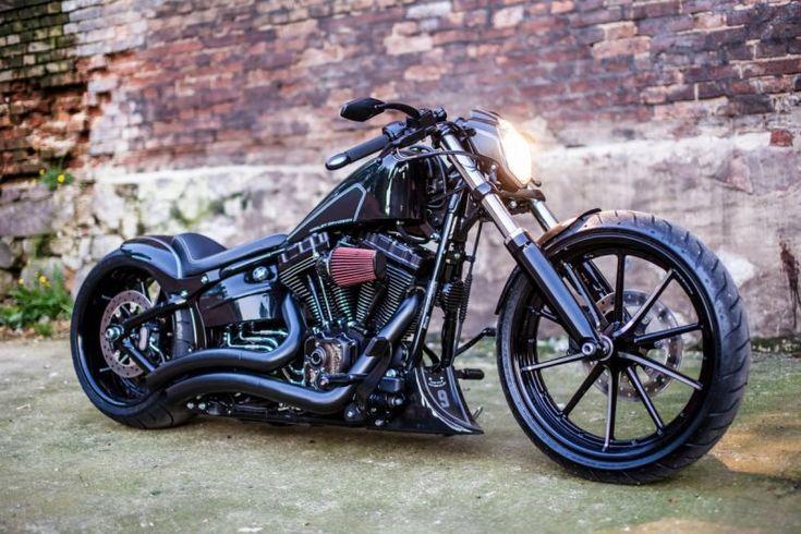 Awesome Custom Bike Harley Davidson Breakout Darkliner