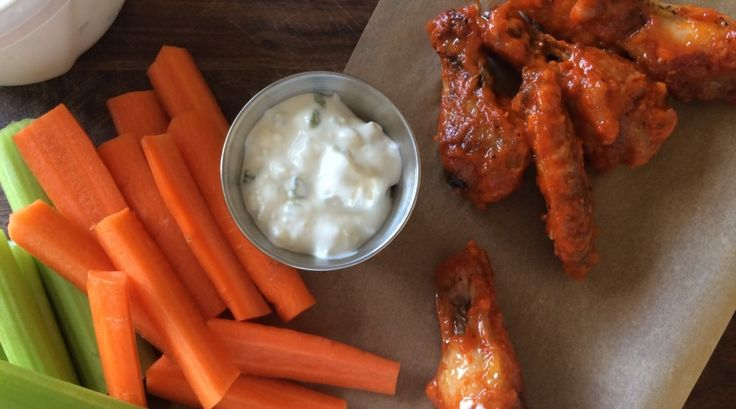 Chilli Garlic Hot Wings with Cashel Blue Cheese Sauce | Cheese ...
