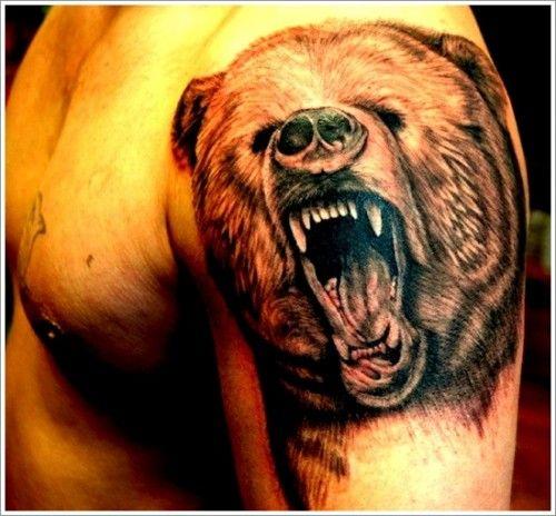 tatuajes de osos25