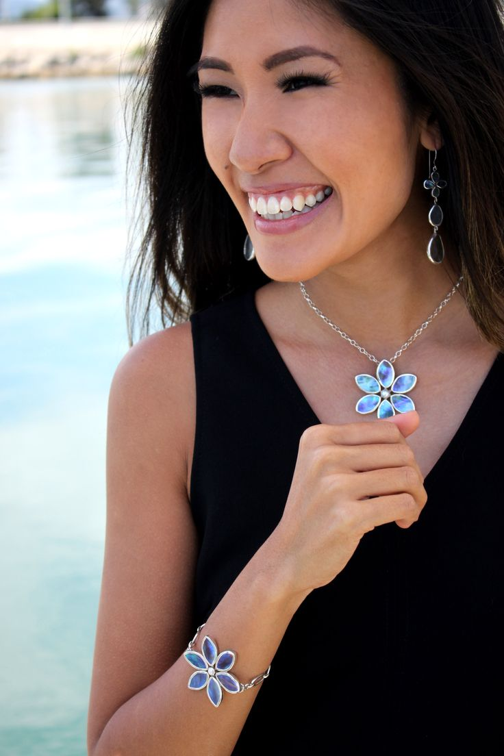 PAUA JEWELRY & VAN-ANH FASHION SHOOT - NEW ZEALAND wearing WILD JEWELS Lillian Necklace, Lily Bracelet and Paua Wild Flower Earrings.  Van-Anh Nguyen is a passionate Australian-Vietnamese versatile pianist, producer and composer amidst teacher, fashionista, blogger and model.