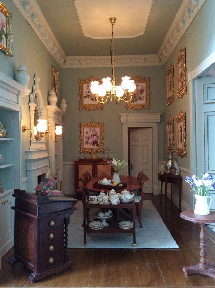122 Best Miniature Rooms Amp Scenes Images On Pinterest