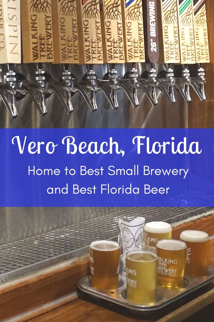 Vero Beach, Florida Craft Beer Breweries | Best Small Brewery in Florida via @IRCTourism
