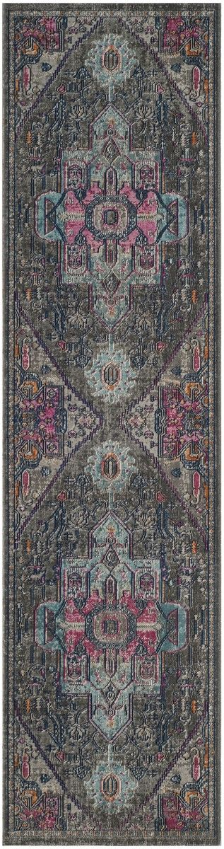 ATN332L Rug from Artisan collection. Filled with traditional artistry and finished with the aged patina of antiquity, the Safavieh Artisan Collection brims with classic style. Finely detailed motifs rise through a refined, close pile usually found in the finest antique oriental carpets. The soft color palette and Persian imagery chosen for Artisan strike a marvelous balance against the distressed, designer-choice patina, making these traditional area rugs the ideal choice for any fine…