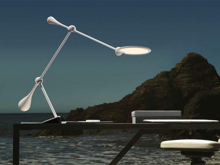 By Light U0026 Contrast. The Trapeze Large LED Table Lamp