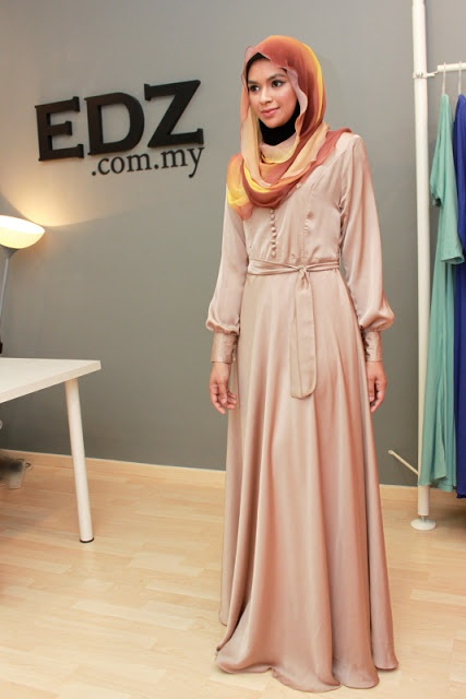 Kate #Hijab Dress  for bridesmaids or any special occasions! ❤ hijab style