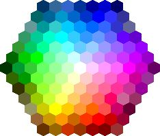 HTML Color Mixer: choosing transition shades for the perfect eye look