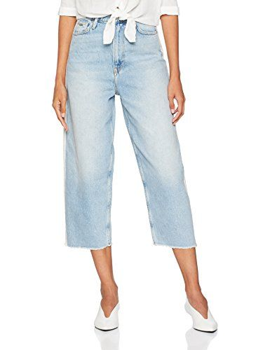 b06380d0d902 Pepe Jeans Edie Jean Boyfriend Femme Bleu (Denim 000) 29W 32L ...