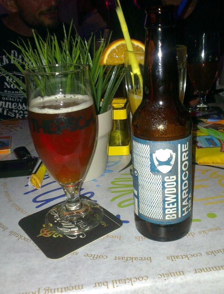 Hardcore IPA -  Brewdog. Hardcore beer! Good taste of hops and bit of caramel malt.  #craftbeer #Brewdog