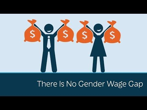 There Is No Gender Wage Gap | PragerU The 0.77 to a dollar myth is proven to be false when other career factors are taken into account