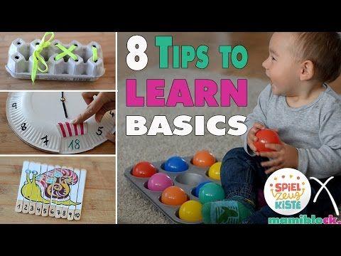 8 Lerntipps für Kleinkinder | MOM HACKS | Learning Basics | mamiblock x Meine Spielzeugkiste - YouTube