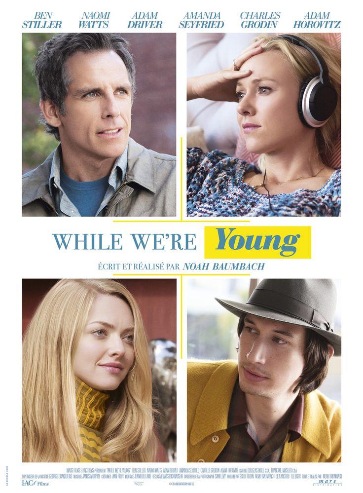 While We're Young est un film de Noah Baumbach avec Ben Stiller, Naomi Watts. Synopsis : Josh et Cornelia Srebnick, la quarantaine, sont mariés et heureux en ménage. Ils n'ont pas réussi à avoir d'enfants mais s'en accommodent. Alors que J