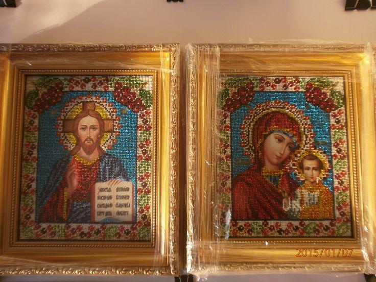 иконы, продаю в паре, хороший подарок на Свадьбу, венчания от родителей или крестных