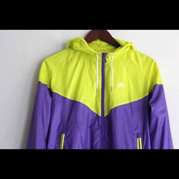 Nike Windrunner Jacket No Flaws ❗️This jacket delivers lightweight comfort and weather resistance in iconic style Double-lined hood for protection. Flat-knit ribbed cuffs and waist to keep in warmth. Recycled, water-resistant fabric for weather protection. Zippered side pockets to store small items securely fit. This lightweight layer features a standard fit and hits at the hip. The waist and cuffs are ribbed for a snug, comfortable fit. Super stylish and very popular style is a perfect…