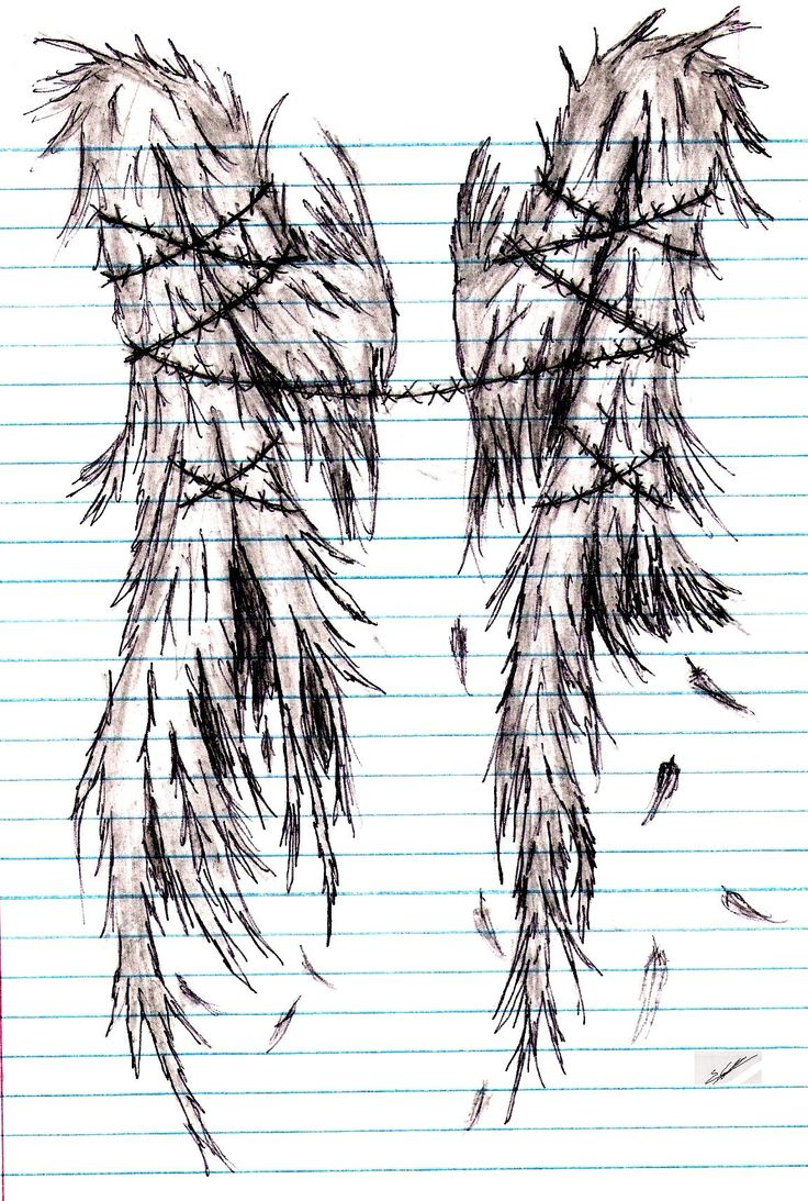Broken Wings by JSM01R.deviantart.com on @deviantART