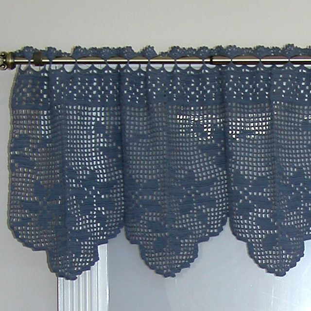 Ravelry: Floral Bouquet Valance pattern by Kathryn A. Clark