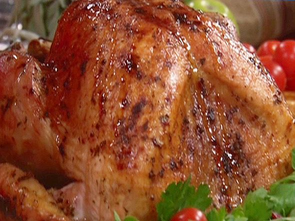 Roasted Turkey with Maple Cranberry Glaze from FoodNetwork.com...Paula Deen