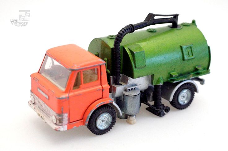 DINKY TOYS Johnston Road Sweeper - cyan74.com Vintage and Pop Culture