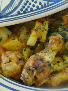 Tajine au poulet et aux légumes au thermomix