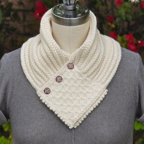 Knitting Pattern Quilted Lattice Ascot : 1000+ images about knitting on Pinterest Copper pots ...