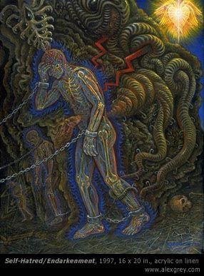 Alex Grey and the Mind Parasites